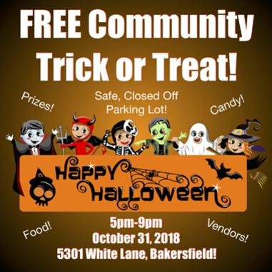 2018 Trick-or-Treat Bakersfield