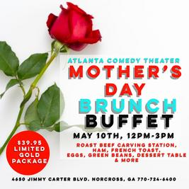 mothers day brunch buffet atlanta comedy laughing skull punchline comedy