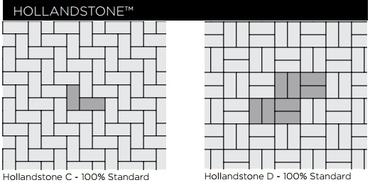 Unilock Hollandstone Paver Patterns