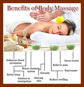 Benefits of a massage at Salon Serenity Spa