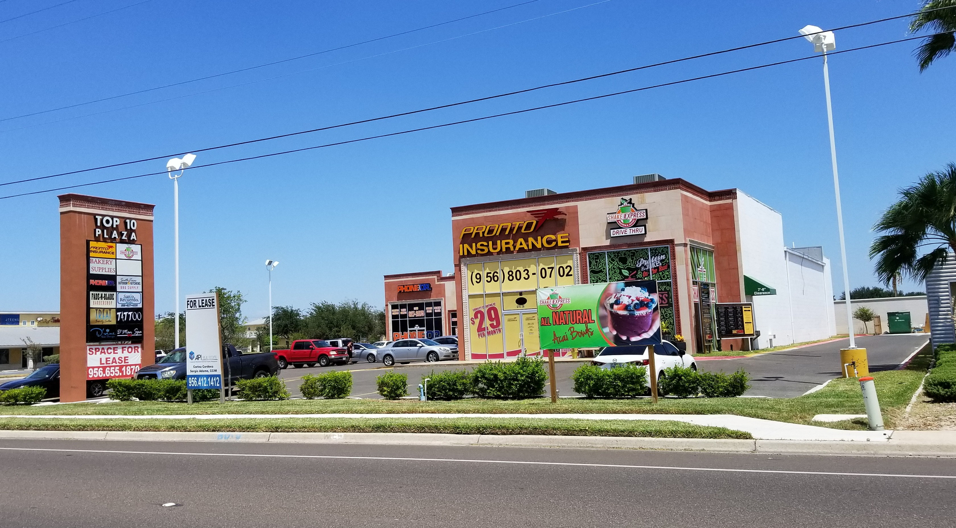 Mcallen tx landlord rep top 10 plaza corner of 10th street and jay ave
