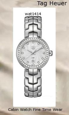 Watch Information Brand, Seller, or Collection Name TAG Heuer Model number THWAT1414BA0954 Part Number THWAT1414BA0954 Model Year 2011 Item Shape Round Dial window material type Anti reflective sapphire Display Type Analog Clasp deployant-clasp-with-push-button Metal stamp None Case material Stainless steel Case diameter 29 millimeters Case Thickness 9.6 millimeters Band Material Stainless steel Band length Women's Standard Band width 20 millimeters Band Color Silver Dial color Silver Bezel material Stainless steel Bezel function Stationary Calendar Date Special features Second hand, Screw down crown Item weight 2.8 Pounds Movement Swiss quartz Water resistant depth 330 Feet