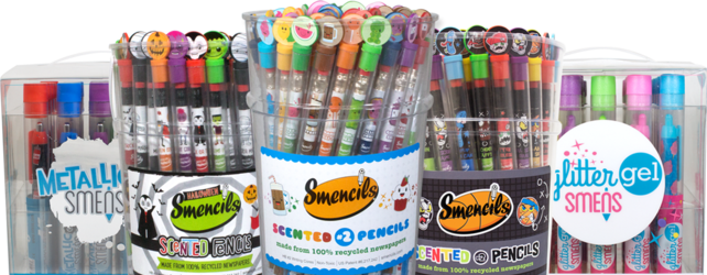 Smencils, Smens scented pencils fundraiser Texas