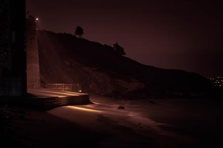 california san francisco beach night landscape