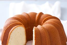 Deluxe Sour Cream Pound Cake