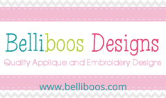 Belliboos Designs Embroidery and Applique