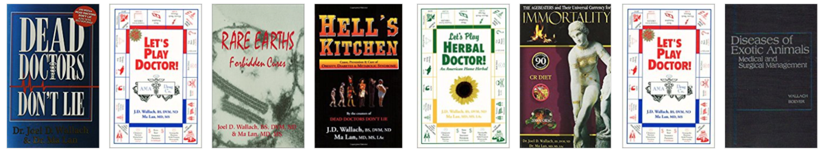 Books by Joel D. Wallach