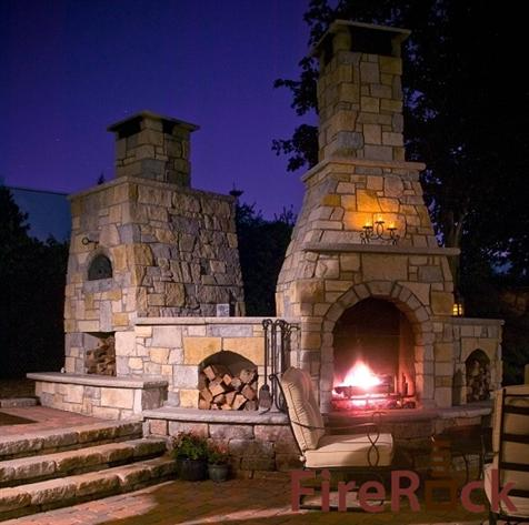 Pizza oven for Firerock fireplaces