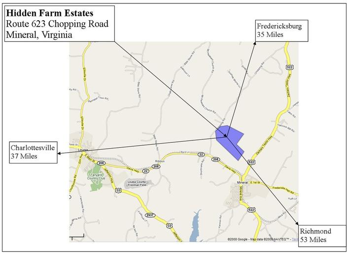 Hidden Farm Estates Lots Homes Mineral And Louisa Virginia