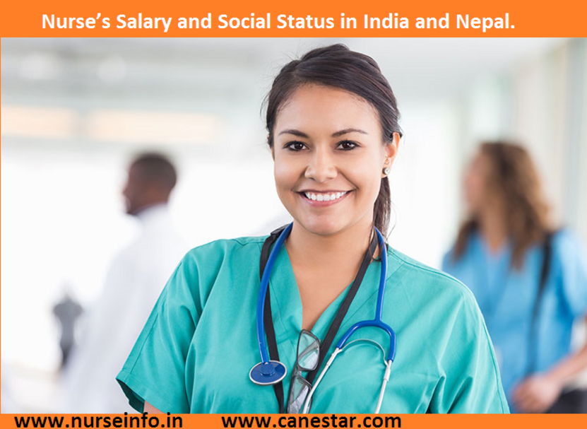 nurse salary in india and nepal
