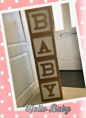 baby shower blocks hire sussex sweet dreams candy cart