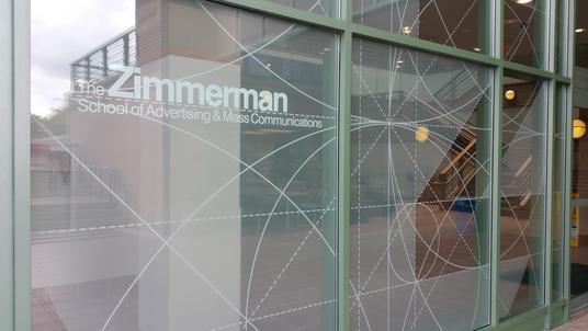 Commercial Digital Window Tint Film Decorative Window Prints