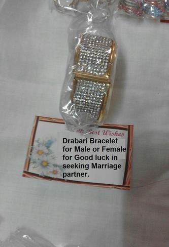 Darbari Bracelet for Male or female for Good Luck in Seeking Marriage partner..From Ajmer Sharif Dargah