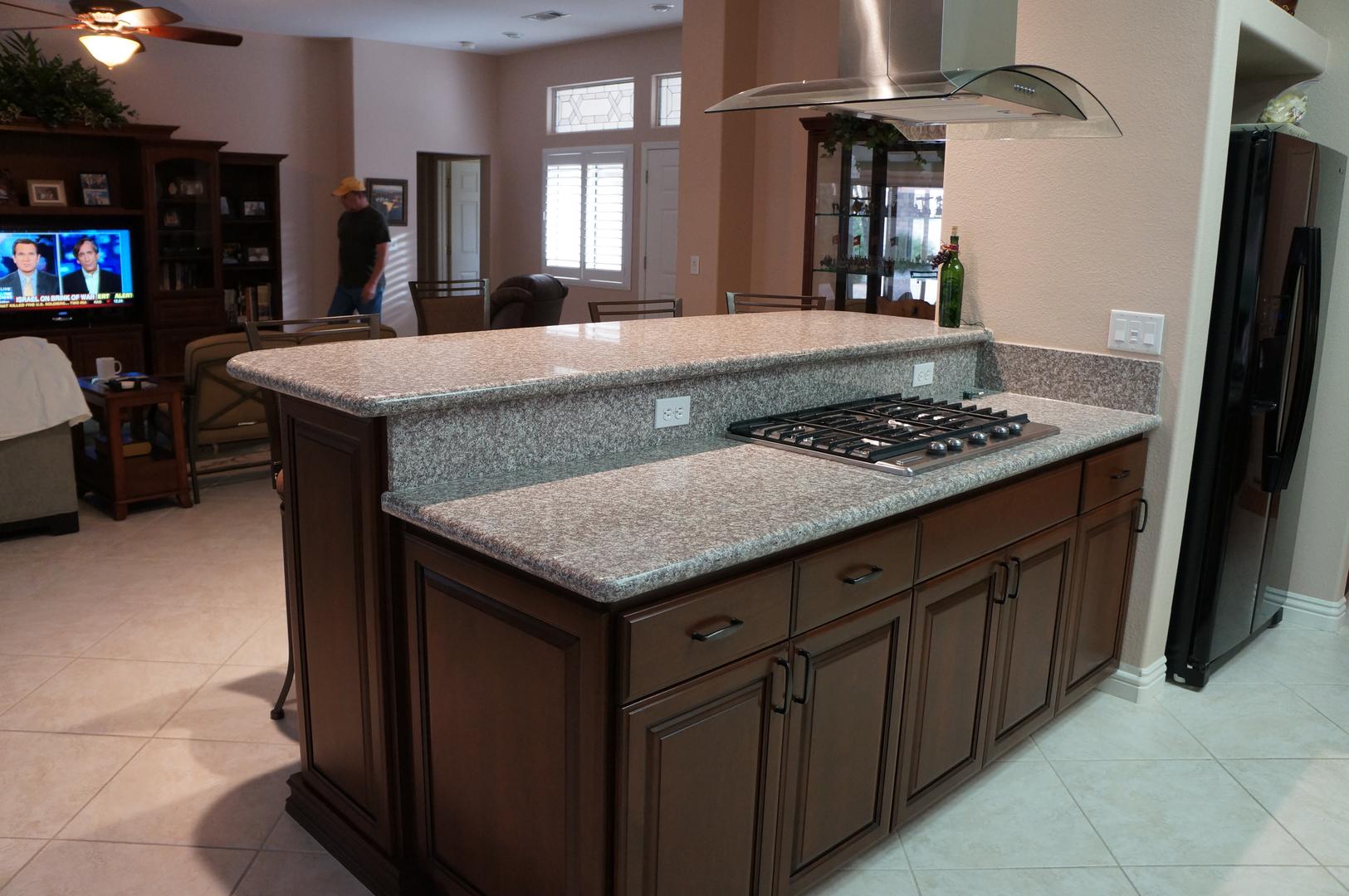 kitchen cabinets las vegas. Cherry  Custom Wall Units Entertainment Center 702 207 0645 Las Vegas