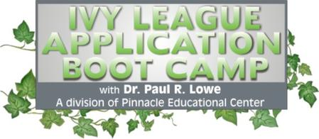 Ivy League Application Boot Camp