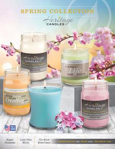 Heritage Candles Spring Fundraiser brochure