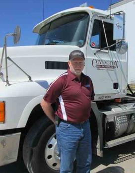 Ron Hogan, Senior Driver, Covington Box & Packaging