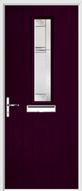 1 Square Composite Door regal corenet glass