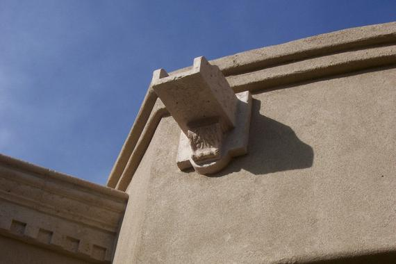 Ancient Stone Precast Scuppers