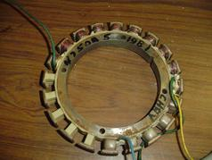 Used stator for 1981 Chrysler outboard F475095