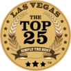 las vegas top 25 dj member badge