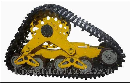 RUBBER TRACKS FOR SUV AND TRACTOR