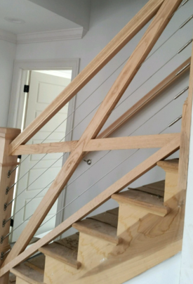 Cable Railing Staircase NJ