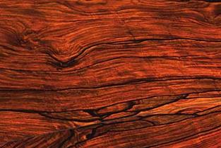 Cocobolo hardwood flooring, exotic hardwood flooring species; specialty wood floor installation; wood flooring with beautiful and unique grain lines