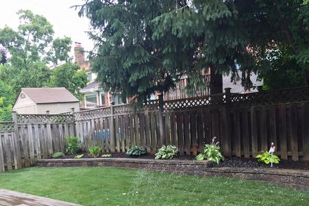 Backyard landscaping in Aurora, Newmarket, Richmond Hill, Bradford, Stouffville, Vaughan, Markham, King City, GTA.