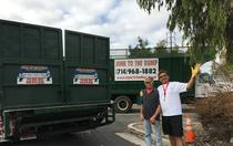 Junk removal services rendered in Orange County, CA