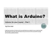 Clinic: What is Arduino Part 1
