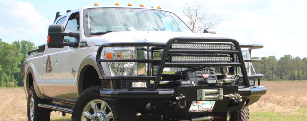 Peacemaker Bumpers - Heavy Duty Ranch Hand Winch Mount Bumpers