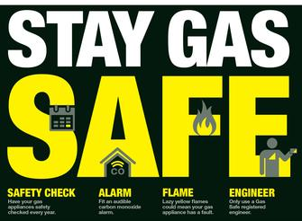 Stay Gas Safe Advisory check list
