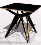Mesa Lazos de triplay diseño Israel Avila