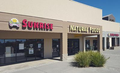 Sunrise Natural Foods has a large selection of vitamins and supplements. sunrise also has a large variety of bulk foods and herbs, organic produce, pet products, household items, diet supplements, protein powders, and groceries.