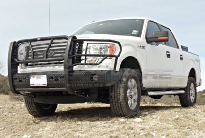 2009 2014 Ford F150 Heavy Duty Front Replacement Bumpers