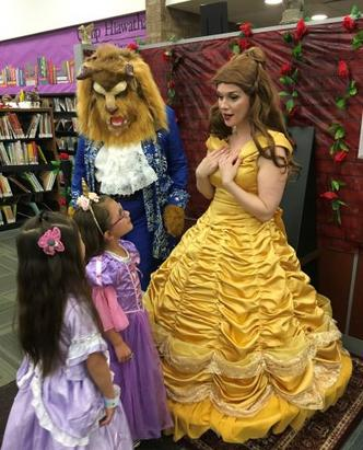 Beauty And The Beast: Chicago Princess Parties Hire Olaf & Disney princesses