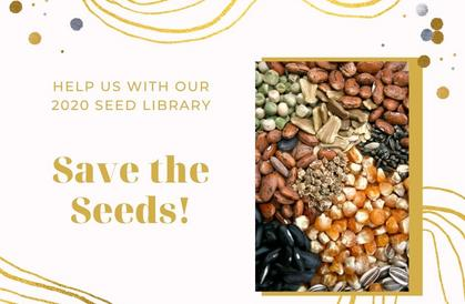 Save Your Seeds!