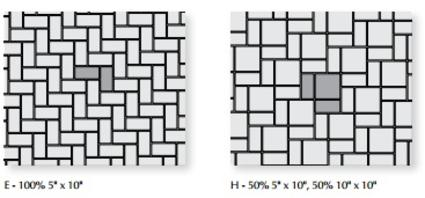 Eco-Priora Permeable Paver Patterns