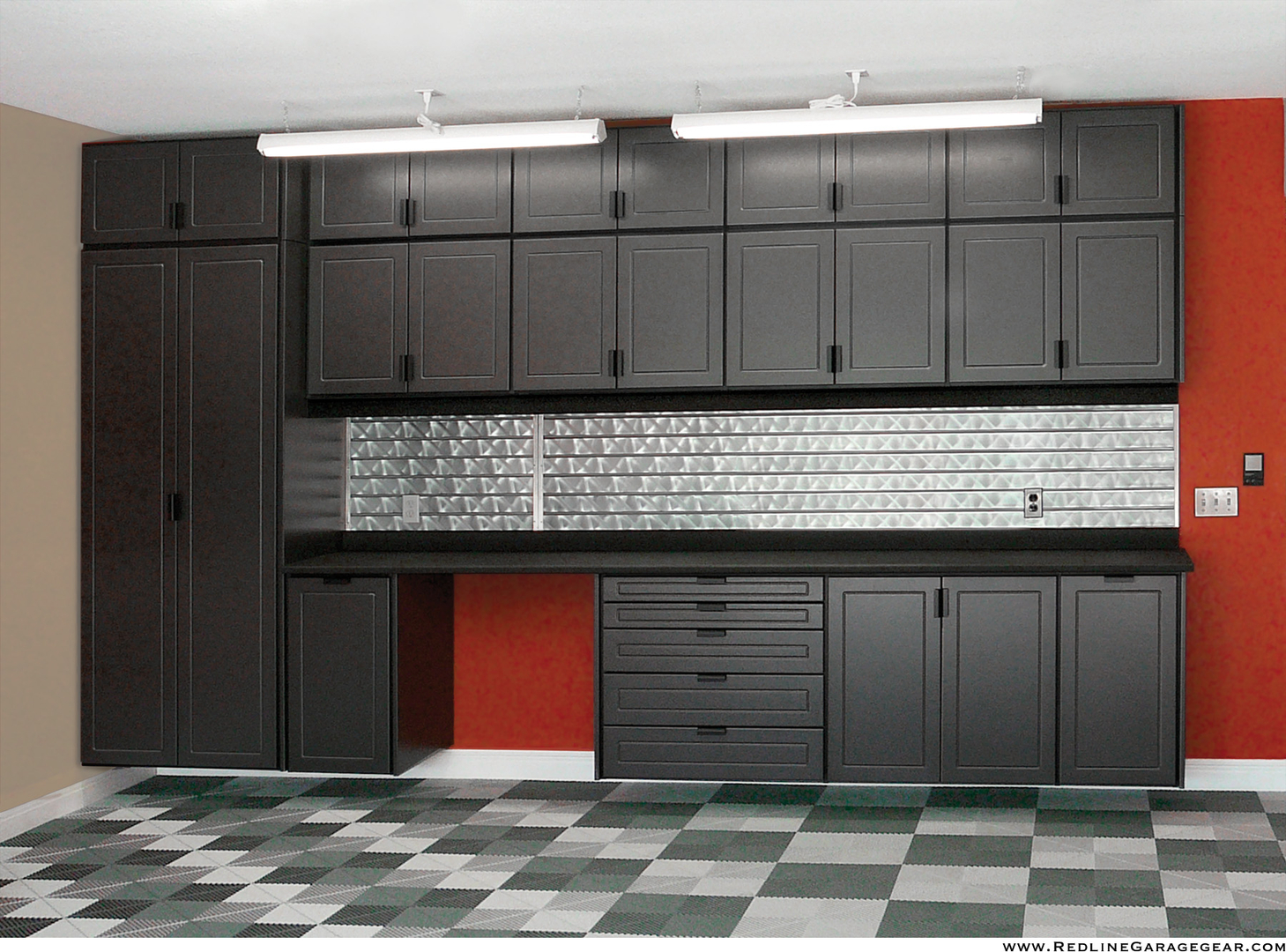 Old kitchen cabinets garage - Cabinets Attractive Powder Coated Colors Adjustable Shelving Lifetime Warranty