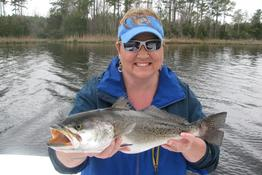 New Bern speckled trout