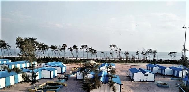 View From Balcony Of Basant Priya The Best Hotel In New Digha