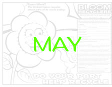 Bloom Recyclers 5-18 Coloring Sweepstakes Entry Form