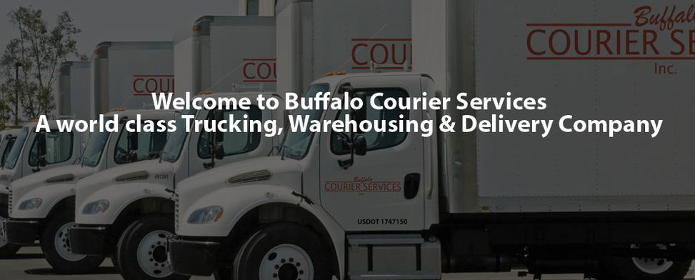 Trucking Service in Buffalo and Rochester, NY