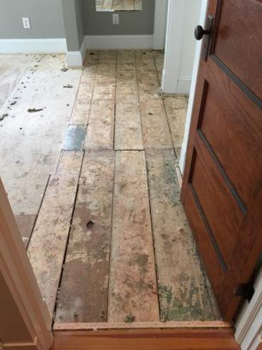 The Importance of a solid subfloor-