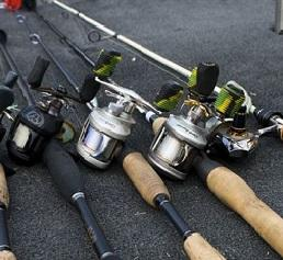 Bridgemaster Fishing Products aka Fisherman's Candy Store fishing rods, fishing reels, fishing rod & reel combos