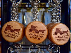 The Amish Farm and House keychains