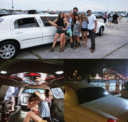 Limo to Jones beach theater concert