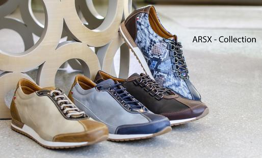 The Añel ARSX Collection shoes are 100% Made in Italy with the finest materials.