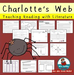 https://www.teacherspayteachers.com/Product/Charlottes-Web-Literature-Study-Pages-Reading-Writing-821943